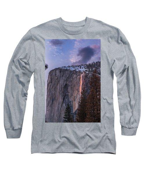 Firefall Long Sleeve T-Shirt by Alpha Wanderlust