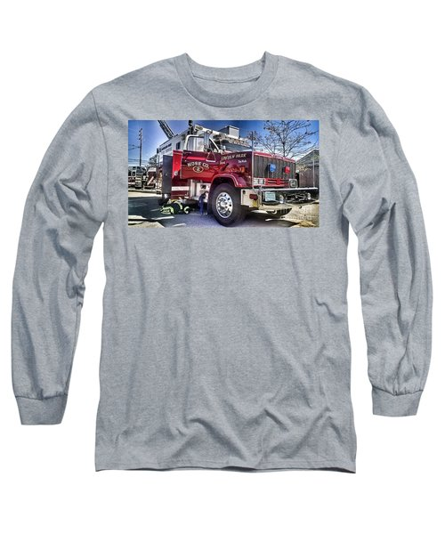 Firemen Honor And Sacrifice #2 Long Sleeve T-Shirt