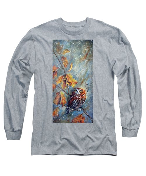 First Flurries Long Sleeve T-Shirt by Mary McCullah