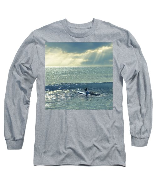 First Of The Day Long Sleeve T-Shirt