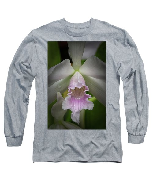 First Orchid Straight On Long Sleeve T-Shirt