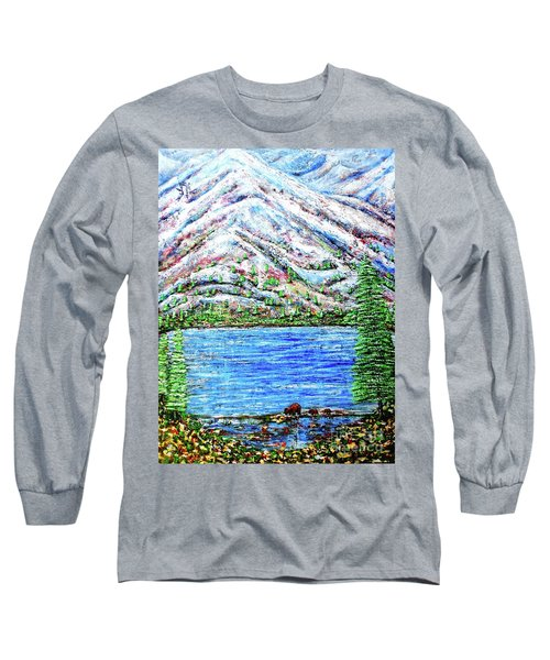 First Snow Long Sleeve T-Shirt by Viktor Lazarev