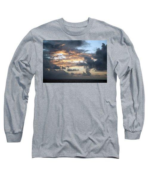 First Sunrise  Long Sleeve T-Shirt by Allen Carroll