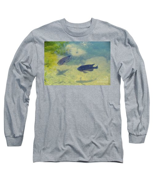 Fish Casting Shadows Long Sleeve T-Shirt