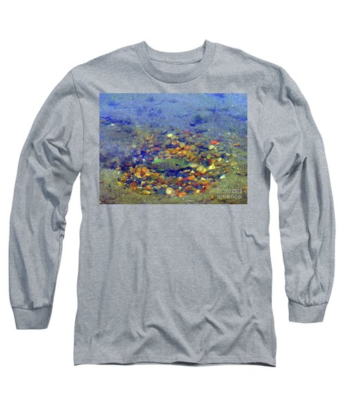 Long Sleeve T-Shirt featuring the photograph Fish Spawning by Rockin Docks Deluxephotos