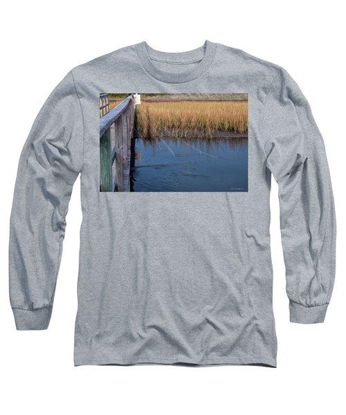 Fishin' Lines Long Sleeve T-Shirt by Kay Lovingood