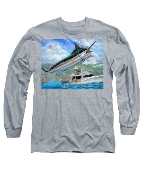 Fishing In The Vintage Long Sleeve T-Shirt