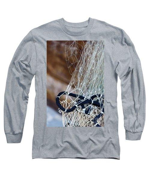Fishing Net Details - Rovinj, Croatia Long Sleeve T-Shirt