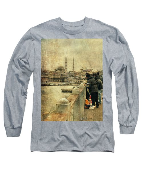 Fishing On The Bosphorus Long Sleeve T-Shirt