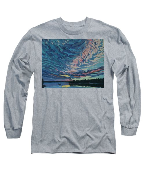 Fishing Sunset Long Sleeve T-Shirt