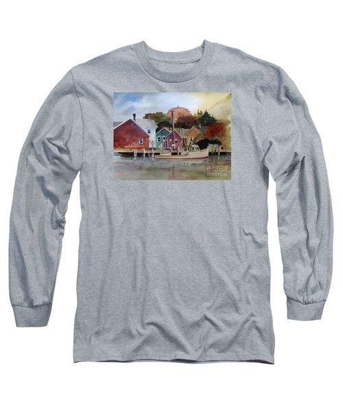 Fishing Village Long Sleeve T-Shirt