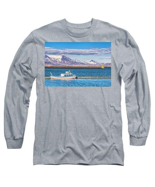 Fishing Long Sleeve T-Shirt by Wade Courtney