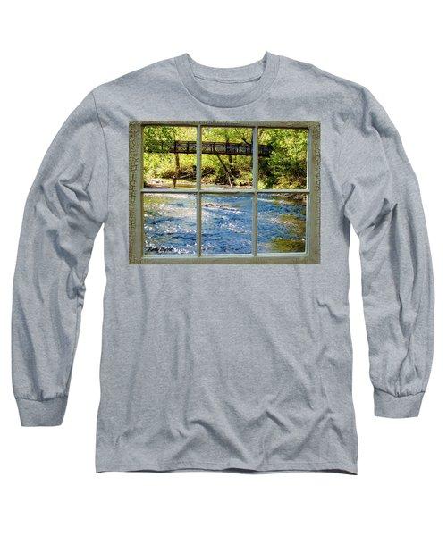 Fishing Window Long Sleeve T-Shirt
