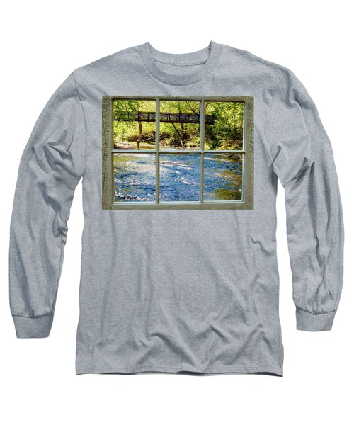 Fishing Window Long Sleeve T-Shirt