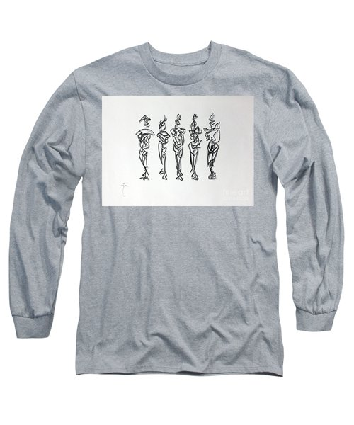 Five Muses Long Sleeve T-Shirt