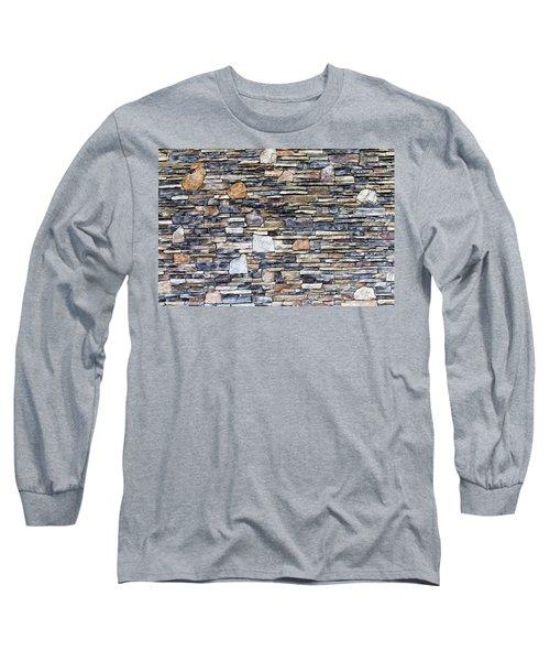 Flagstone Wall Long Sleeve T-Shirt