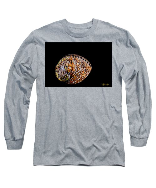 Flame Abalone Long Sleeve T-Shirt