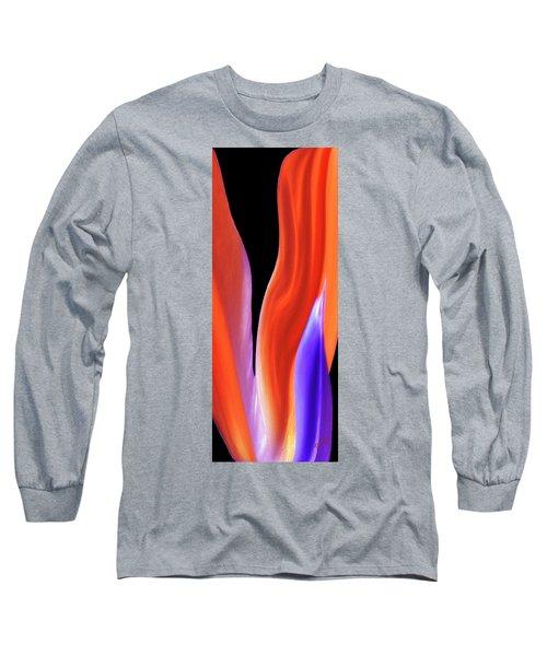 Flame - Bird Of Paradise   Long Sleeve T-Shirt