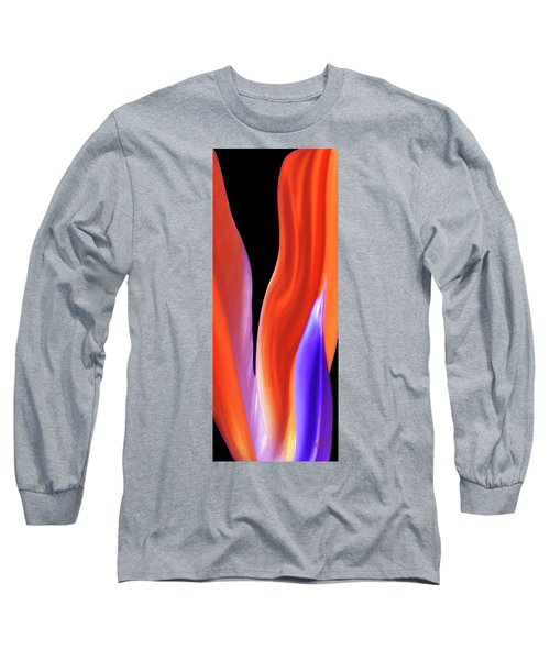 Flame - Bird Of Paradise   Long Sleeve T-Shirt