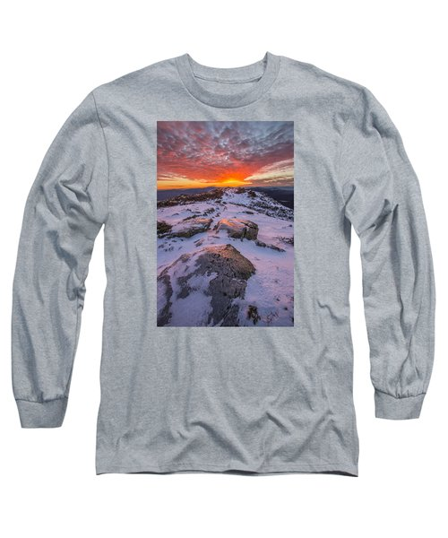 Flames Over Haystack Long Sleeve T-Shirt