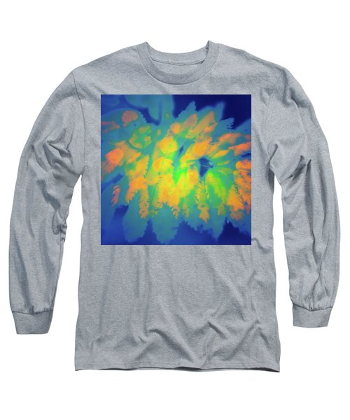 Long Sleeve T-Shirt featuring the photograph Flaming Foliage 2 by Ari Salmela