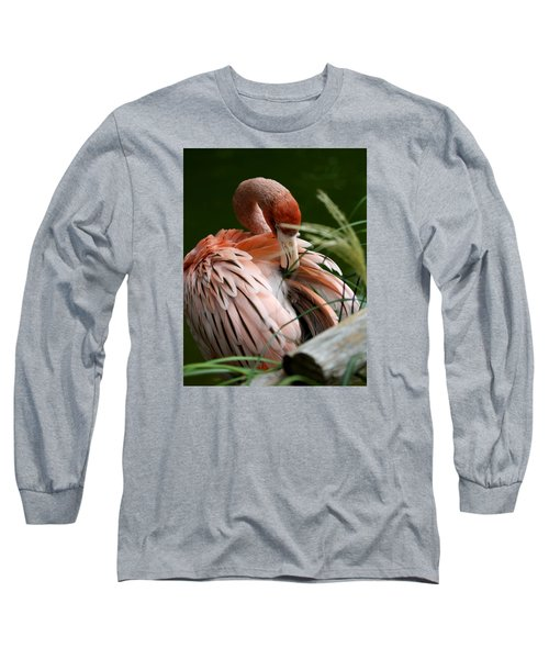 Flamingo Boudoir Long Sleeve T-Shirt