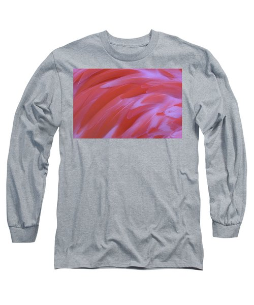Long Sleeve T-Shirt featuring the photograph Flamingo Flow 2 by Michael Hubley
