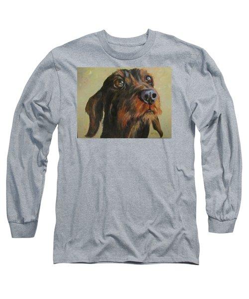 Flavi Long Sleeve T-Shirt by Barbara O'Toole