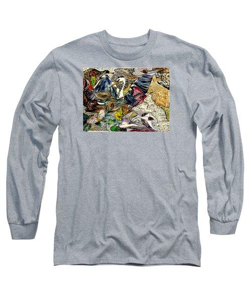 Flight Long Sleeve T-Shirt by Lisa Aerts