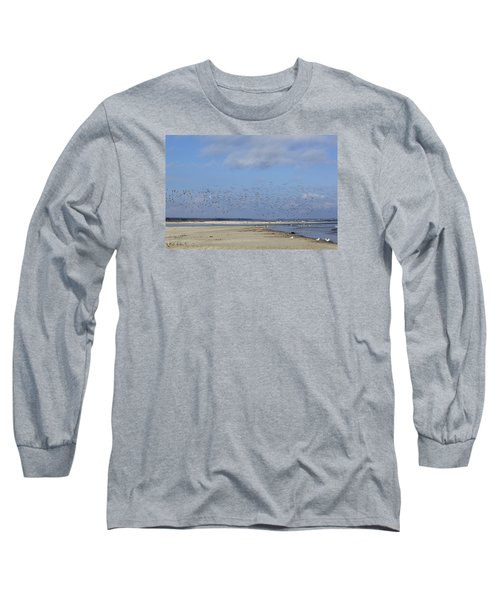 Flight Long Sleeve T-Shirt by Tammy Schneider
