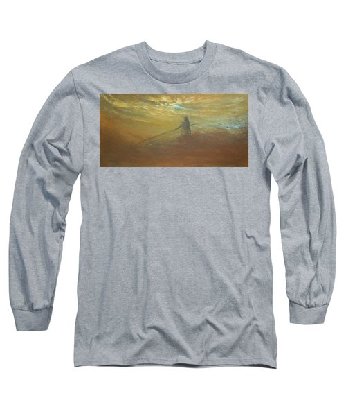 Float On Long Sleeve T-Shirt by Jane See