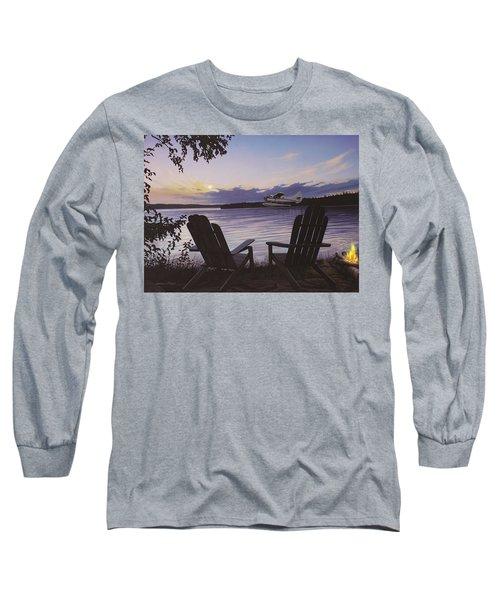 Float Plane Long Sleeve T-Shirt