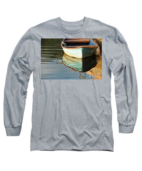 Long Sleeve T-Shirt featuring the photograph Floating On Blue 44 by Wendy Wilton