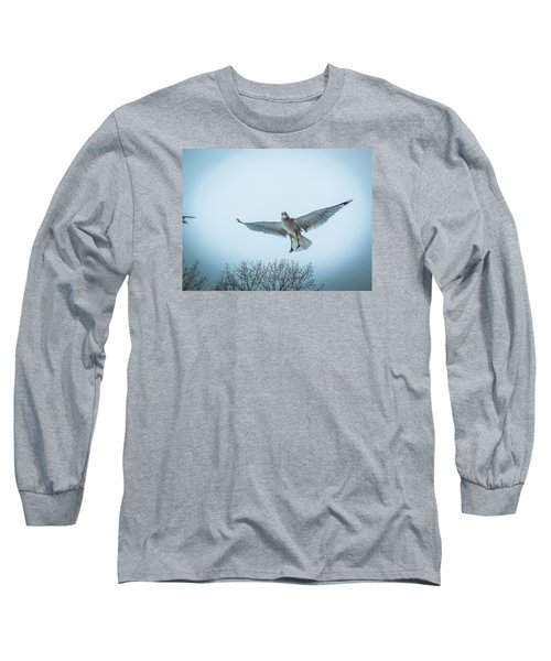 Floating On Hope  Long Sleeve T-Shirt by Glenn Feron