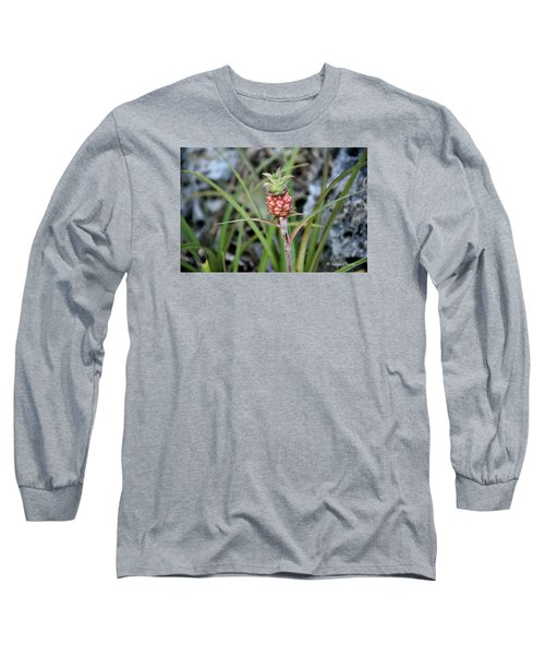 Flor Pina Long Sleeve T-Shirt by Edgar Torres