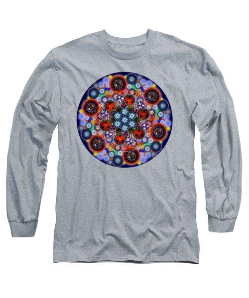 Flora Viscera Mandala Long Sleeve T-Shirt
