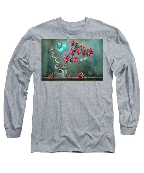 Floral 2 Long Sleeve T-Shirt