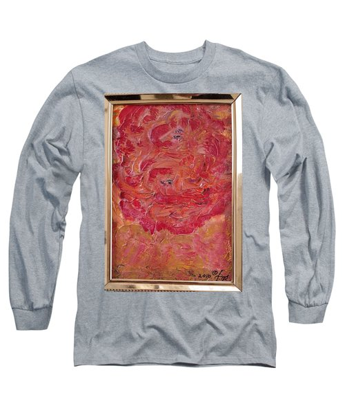 Floral Abstract 1 Long Sleeve T-Shirt