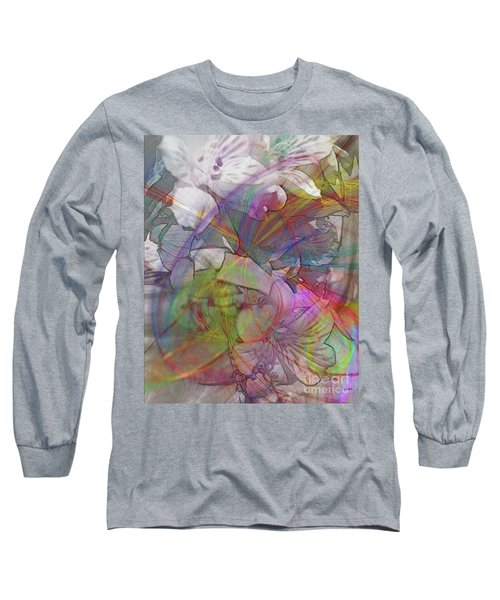 Floral Fantasy Long Sleeve T-Shirt by John Robert Beck