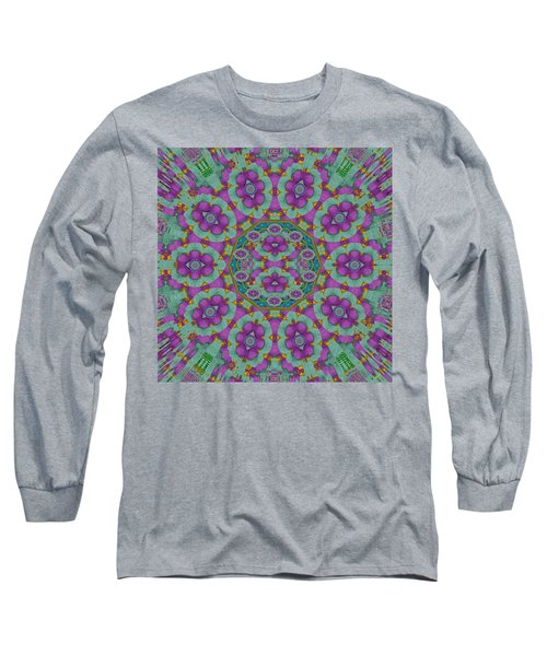 Florals Of Paradise Long Sleeve T-Shirt