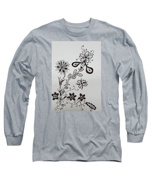 Flower 8 Long Sleeve T-Shirt