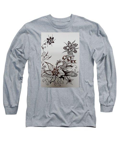 Flower 9 Long Sleeve T-Shirt