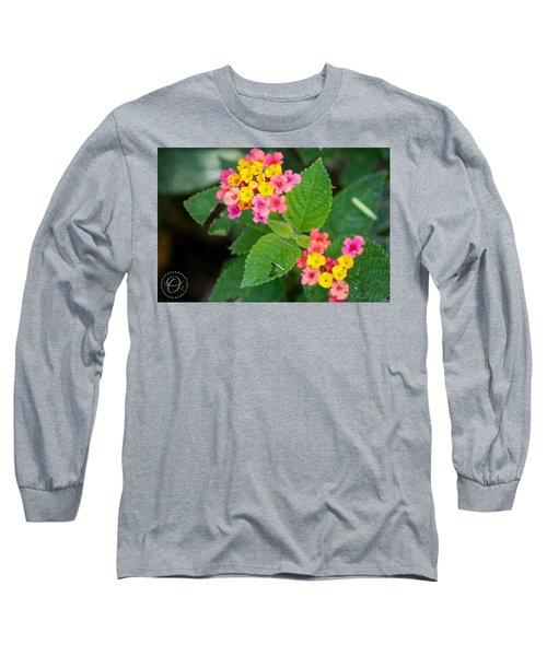 Flower Bloom Long Sleeve T-Shirt by Shelley Overton