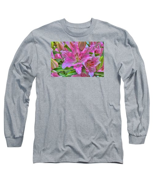 Flower Delight Long Sleeve T-Shirt