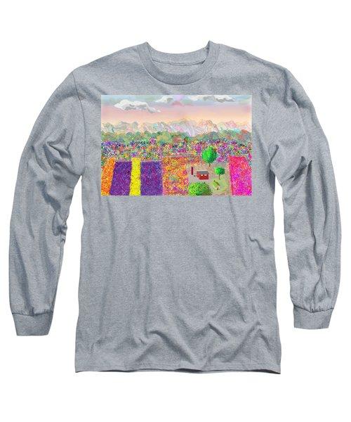 Flower Farm Long Sleeve T-Shirt
