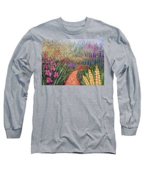 Flower Gar02den  Long Sleeve T-Shirt
