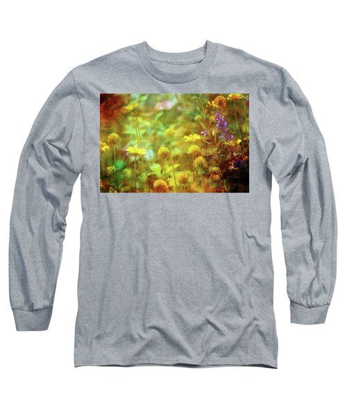 Flower Garden 1310 Idp_2 Long Sleeve T-Shirt