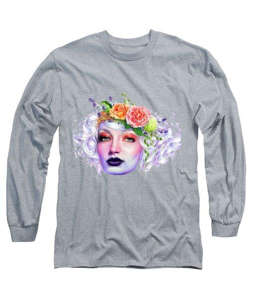 Flower Girl T-shirt Long Sleeve T-Shirt