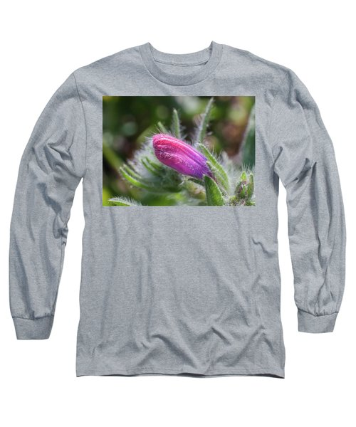 Flower-macro Long Sleeve T-Shirt by Sergey Simanovsky
