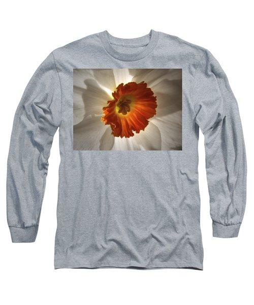 Flower Narcissus Long Sleeve T-Shirt